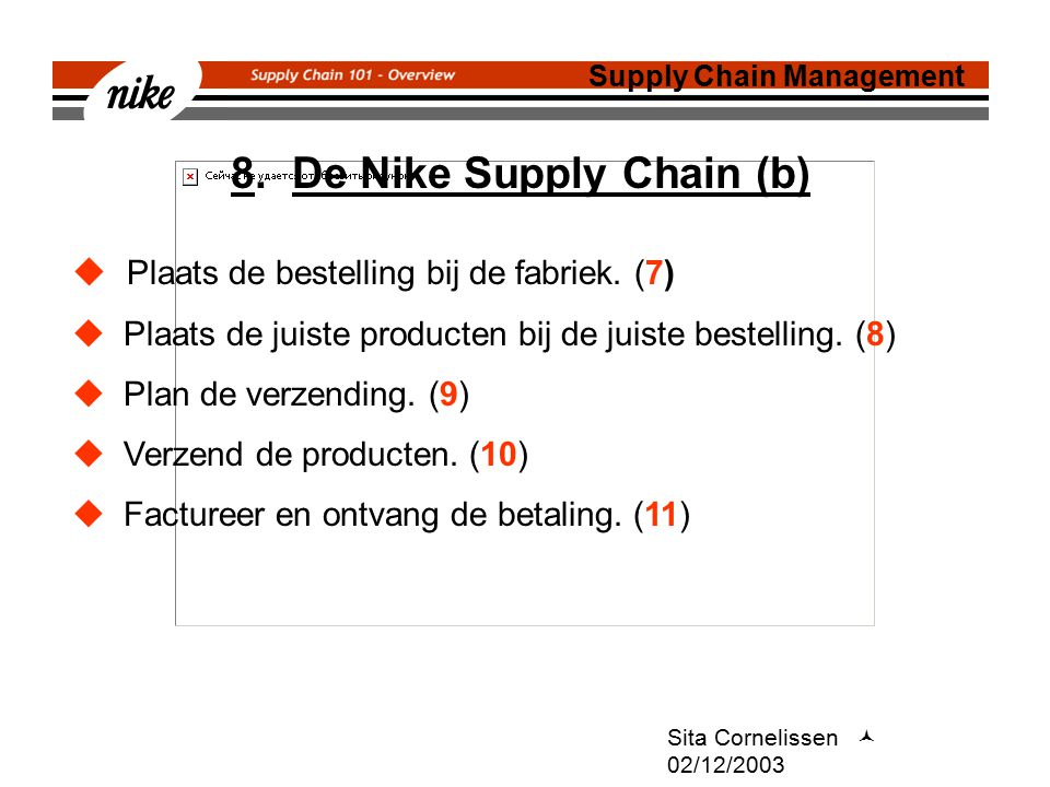 8. De Nike Supply Chain (b)