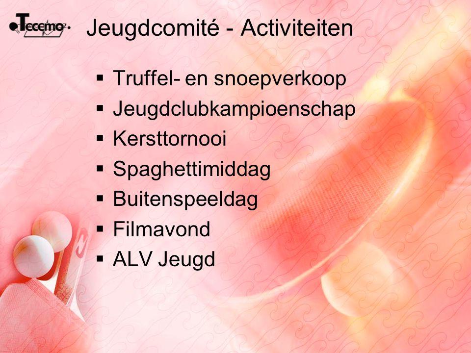 Jeugdcomité - Activiteiten