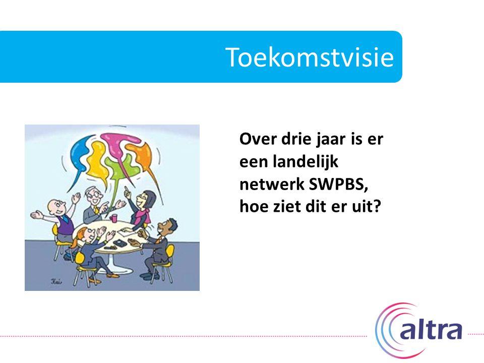 Toekomstvisie Over drie jaar is er een landelijk netwerk SWPBS, hoe ziet dit er uit