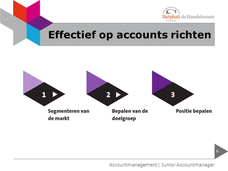 Effectief op accounts richten