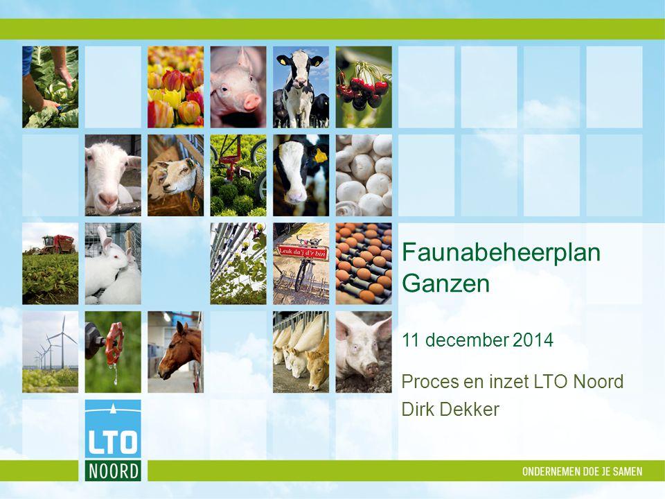 Faunabeheerplan Ganzen 11 december 2014