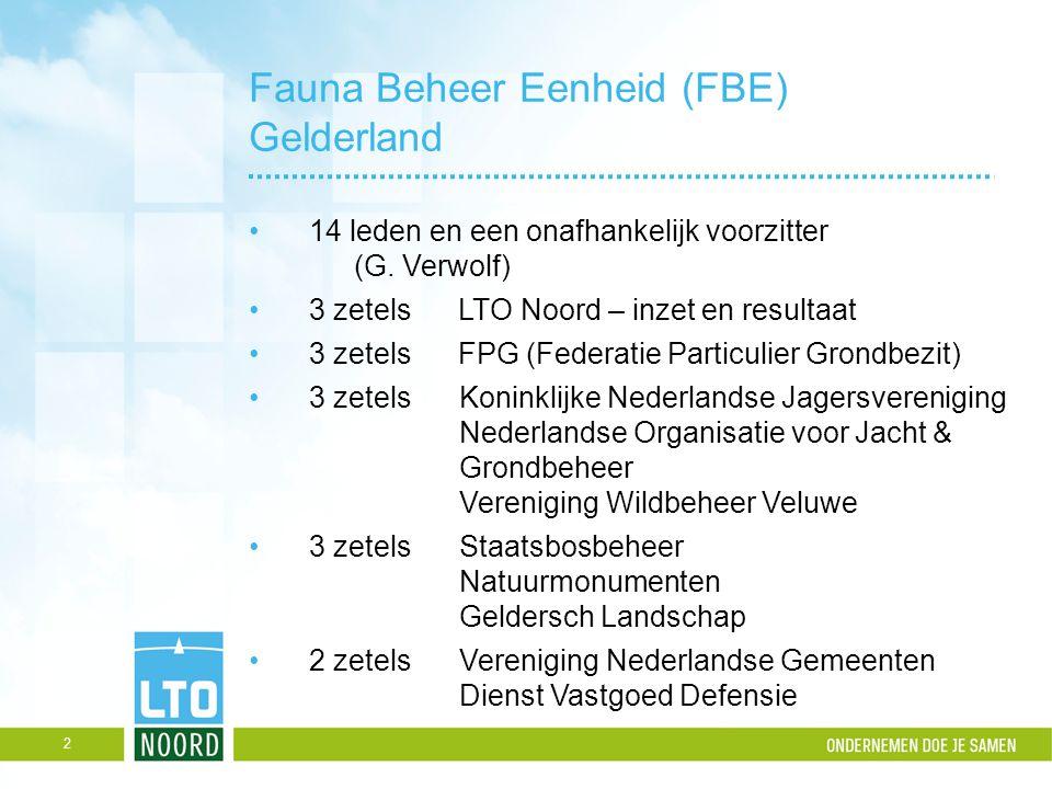 Fauna Beheer Eenheid (FBE) Gelderland
