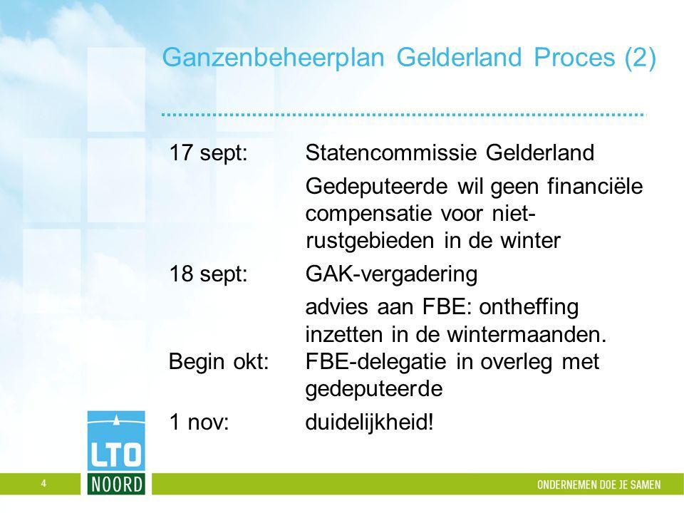 Ganzenbeheerplan Gelderland Proces (2)