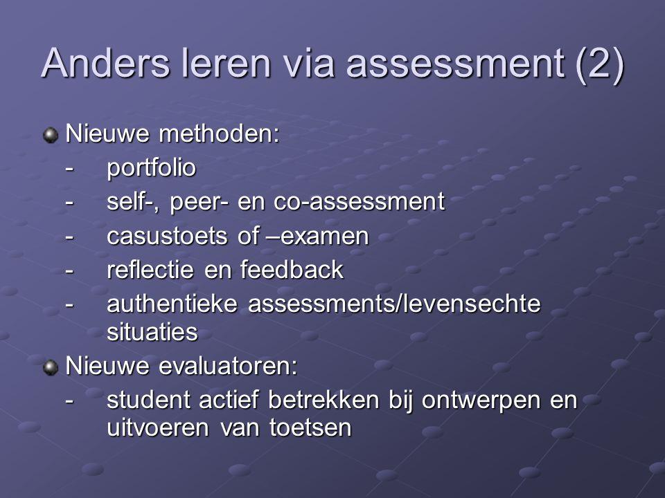 Anders leren via assessment (2)
