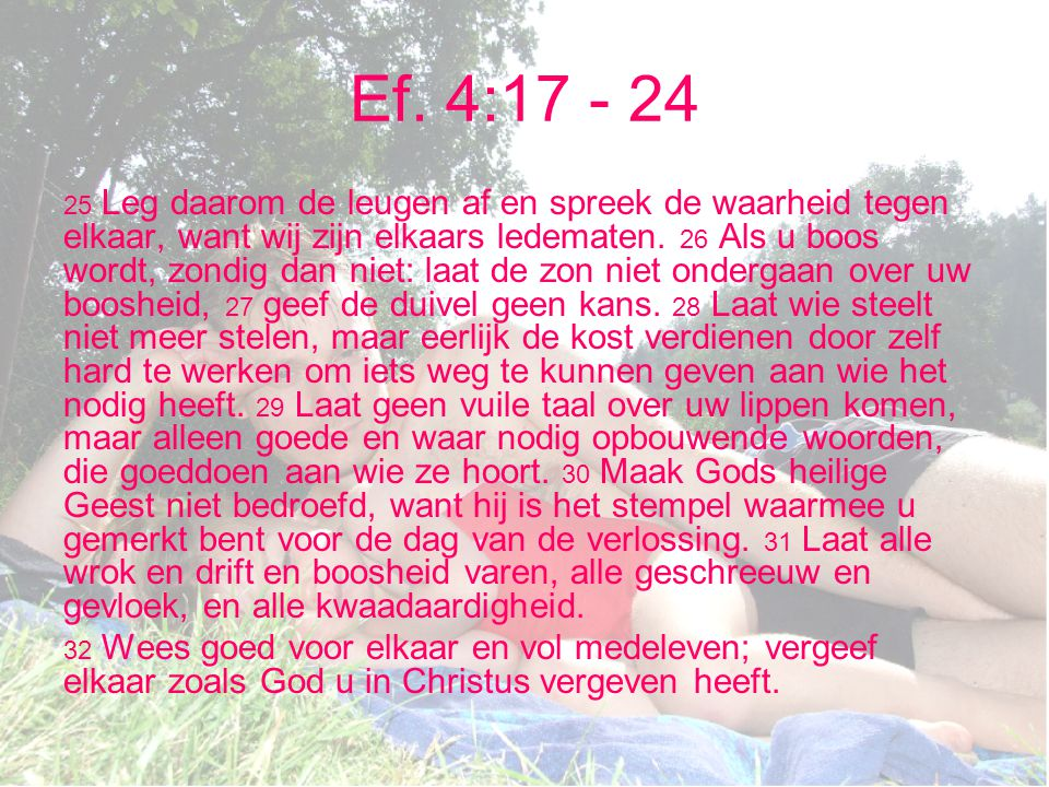 Ef. 4:17 - 24