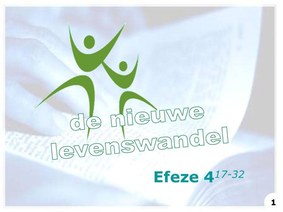 de nieuwe levenswandel Efeze 417-32 1