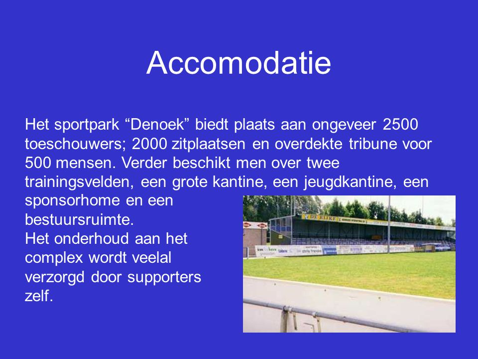 Accomodatie