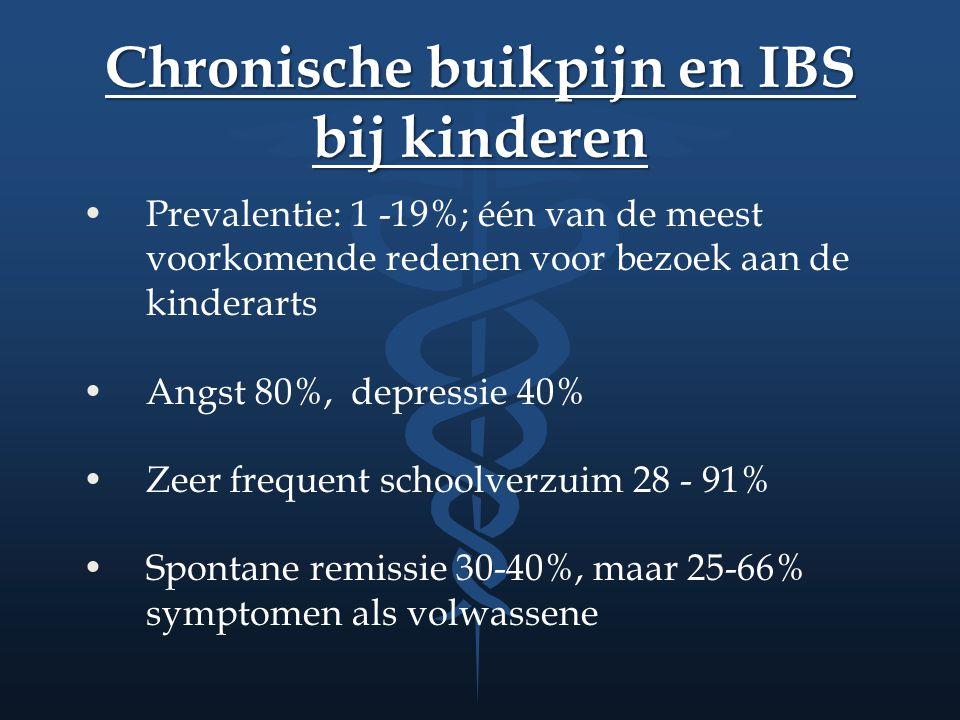 Chronische buikpijn en IBS bij kinderen