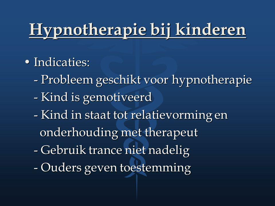 Hypnotherapie bij kinderen