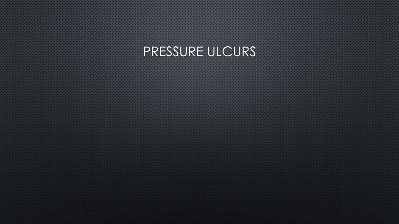 Pressure ulcurs