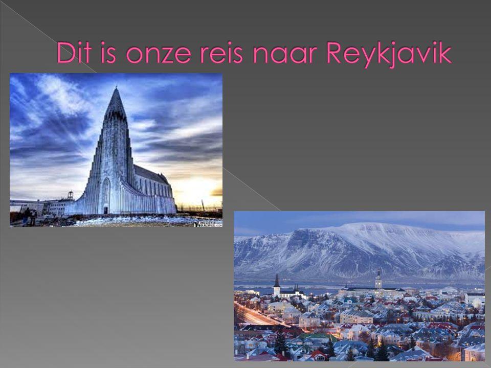 Dit is onze reis naar Reykjavik