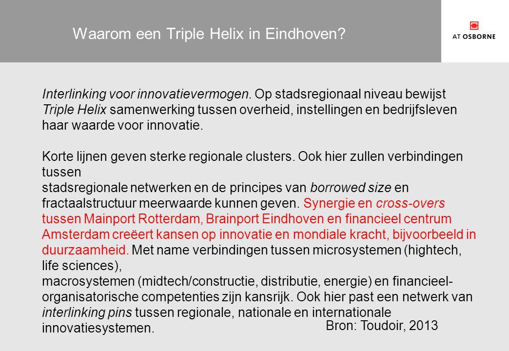 Waarom een Triple Helix in Eindhoven