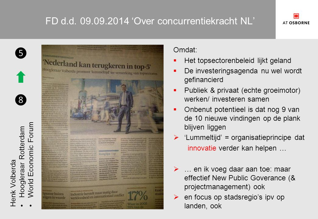 FD d.d. 09.09.2014 'Over concurrentiekracht NL'