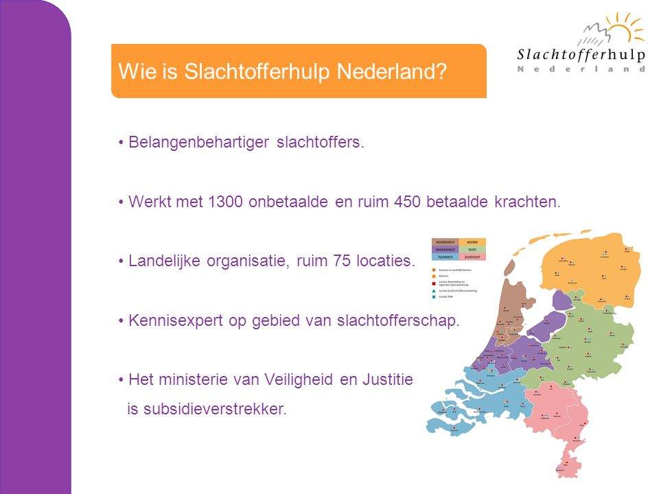 Wie is Slachtofferhulp Nederland
