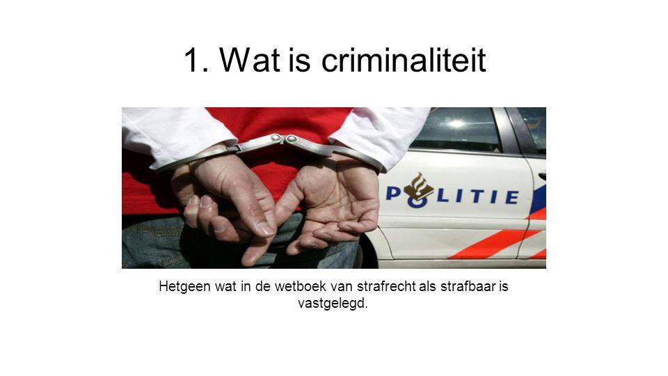 Hetgeen wat in de wetboek van strafrecht als strafbaar is vastgelegd.