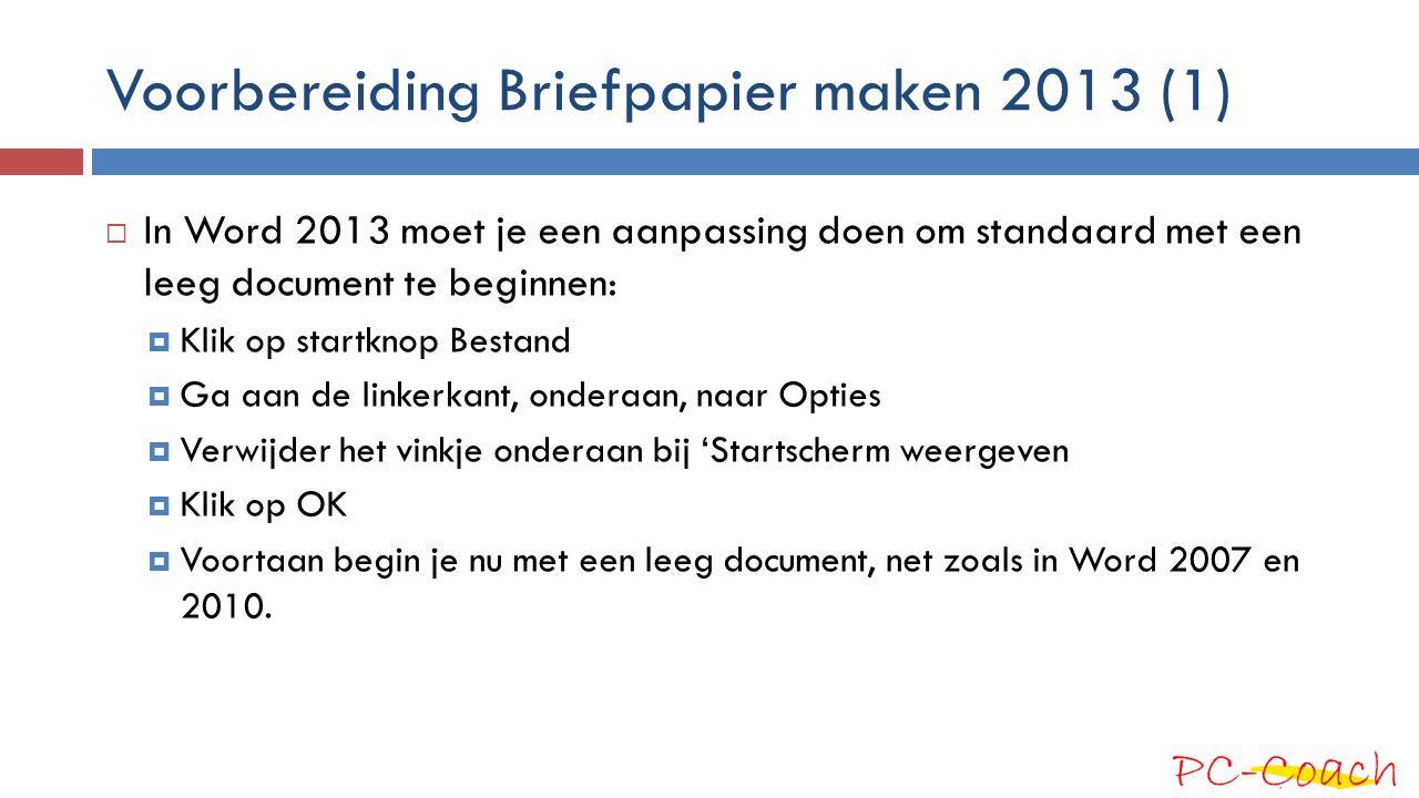 Voorbereiding Briefpapier maken 2013 (1)