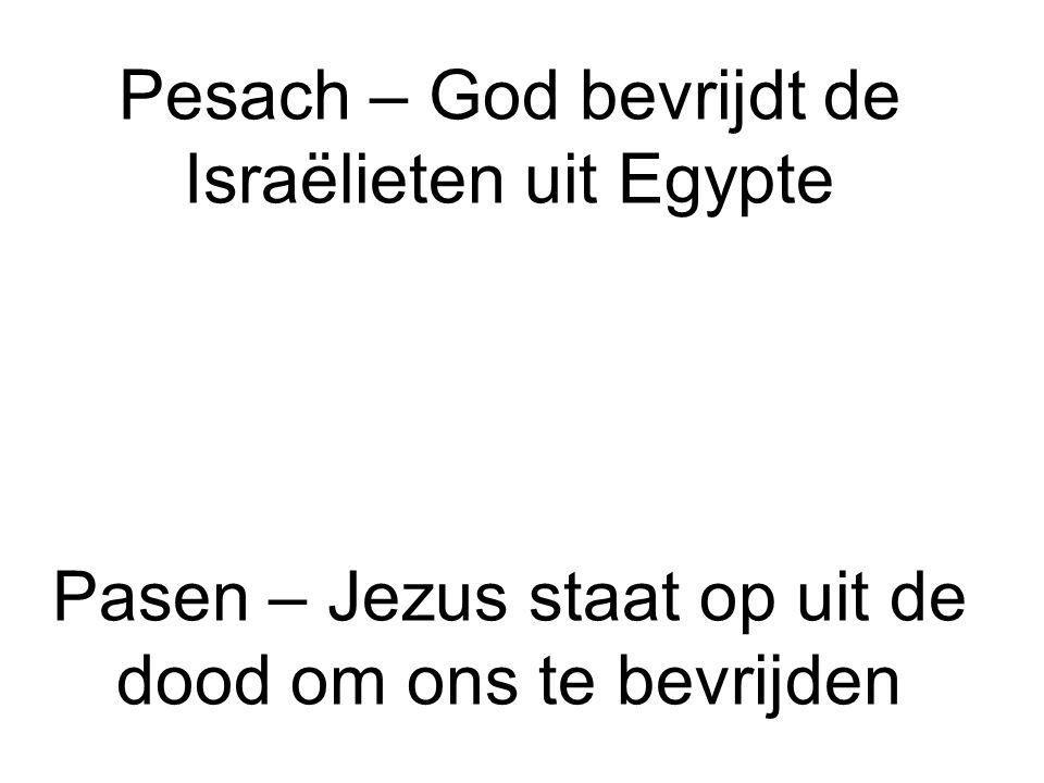 Pesach – God bevrijdt de Israëlieten uit Egypte