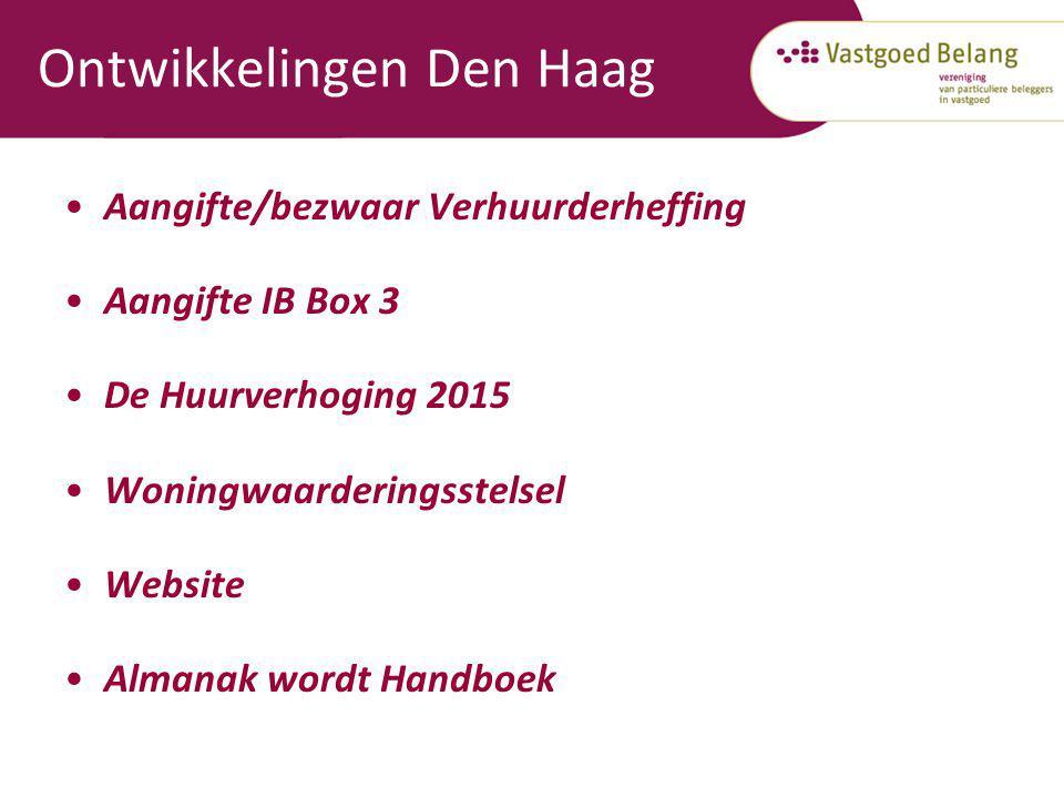 Ontwikkelingen Den Haag