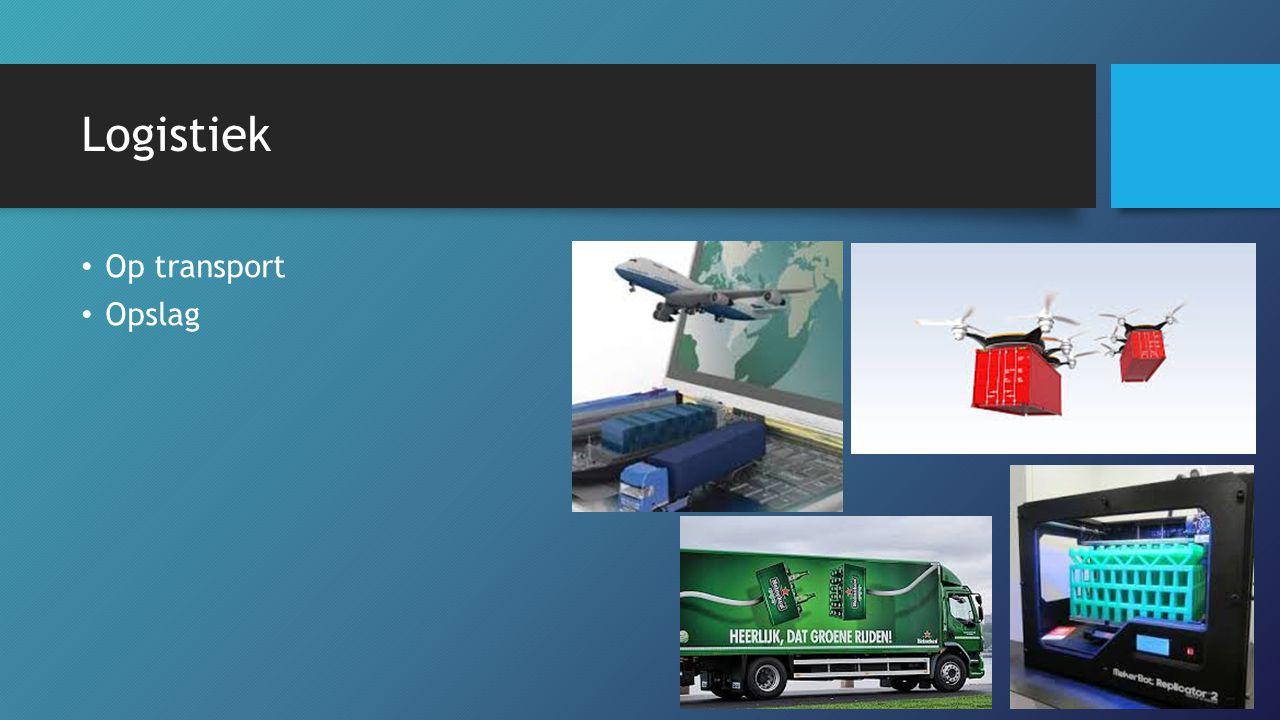 Logistiek Op transport Opslag