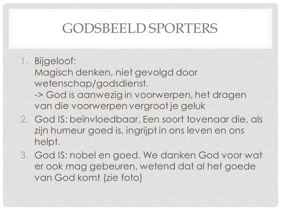 Godsbeeld sporters