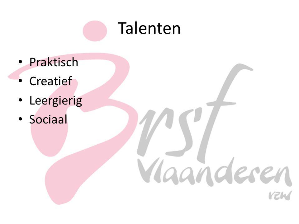 Talenten Praktisch Creatief Leergierig Sociaal