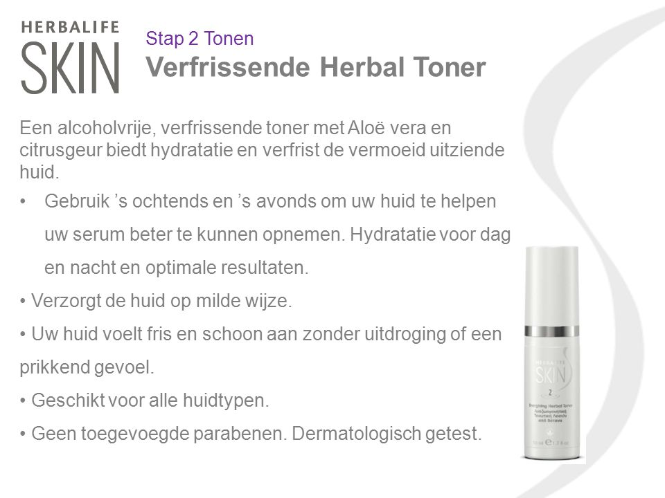 Verfrissende Herbal Toner