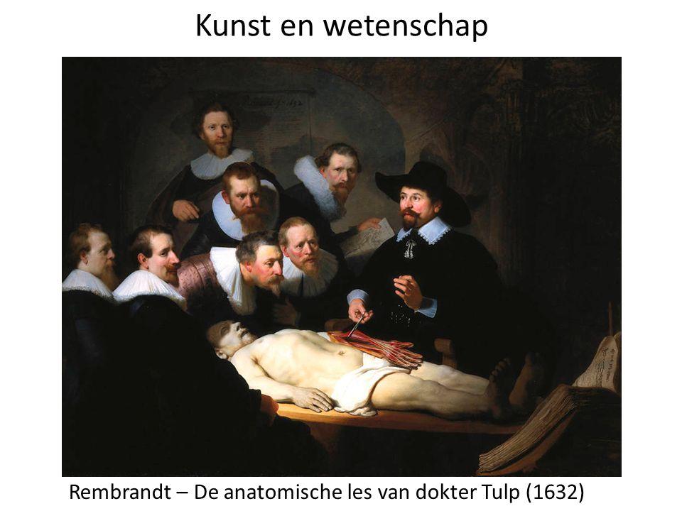 Kunst en wetenschap Rembrandt – De anatomische les van dokter Tulp (1632)