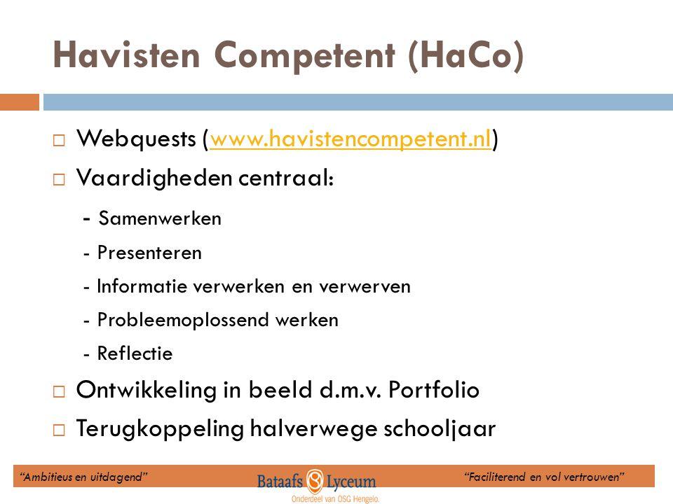 Havisten Competent (HaCo)
