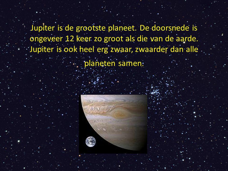 Jupiter is de grootste planeet