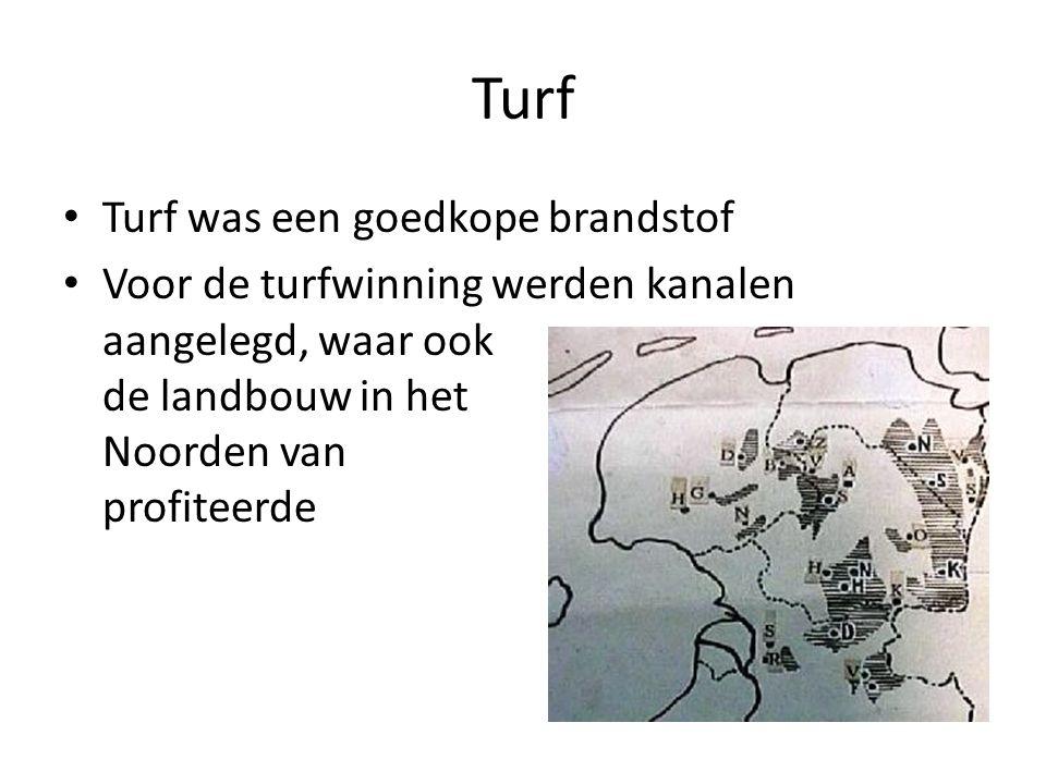 Turf Turf was een goedkope brandstof