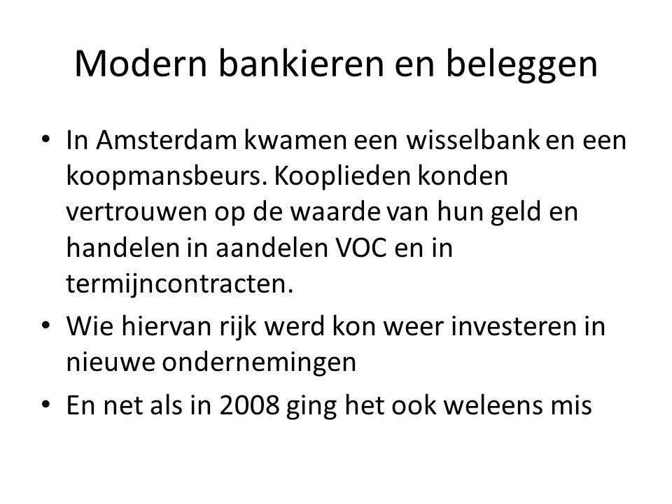 Modern bankieren en beleggen