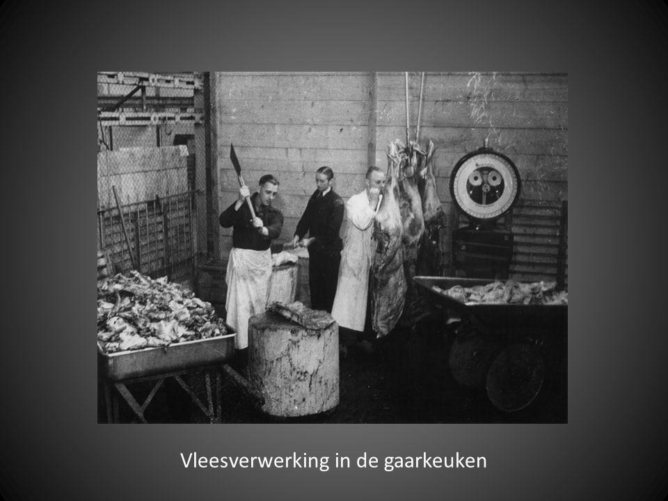 Vleesverwerking in de gaarkeuken