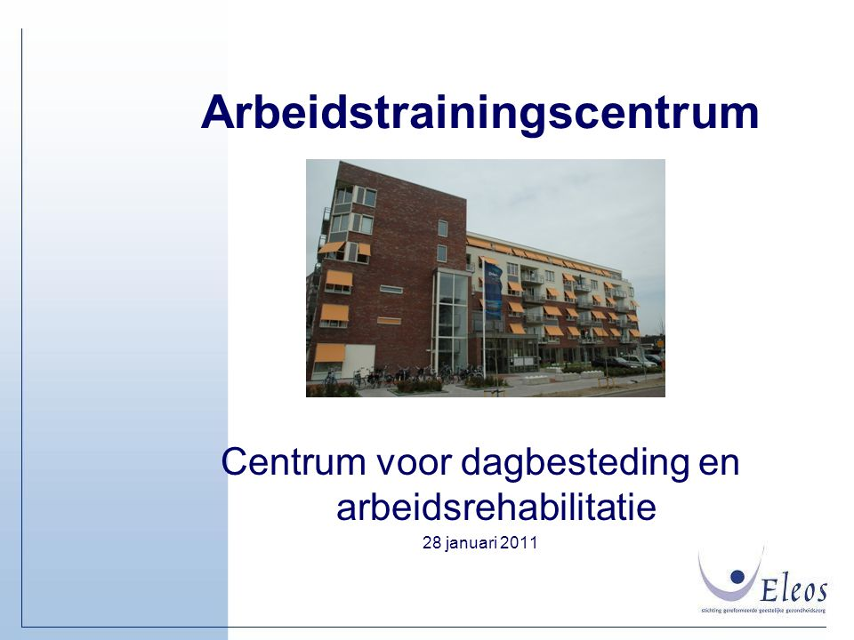 Arbeidstrainingscentrum