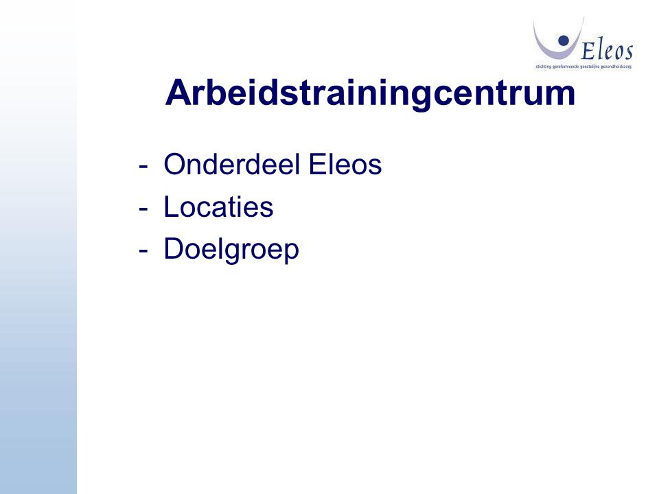 Arbeidstrainingcentrum