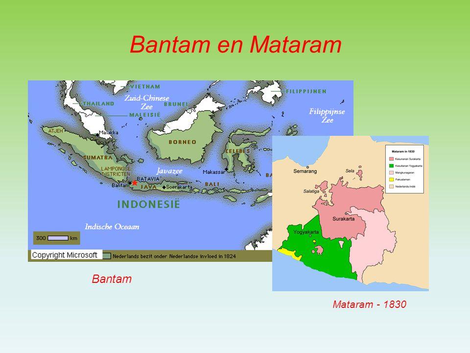 Bantam en Mataram Bantam Mataram - 1830