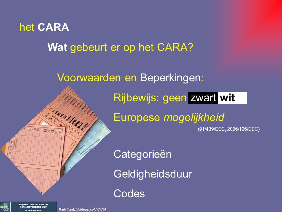 Wat gebeurt er op het CARA