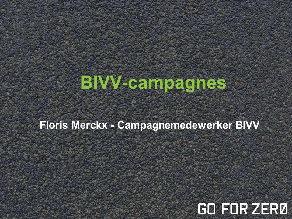 Floris Merckx - Campagnemedewerker BIVV