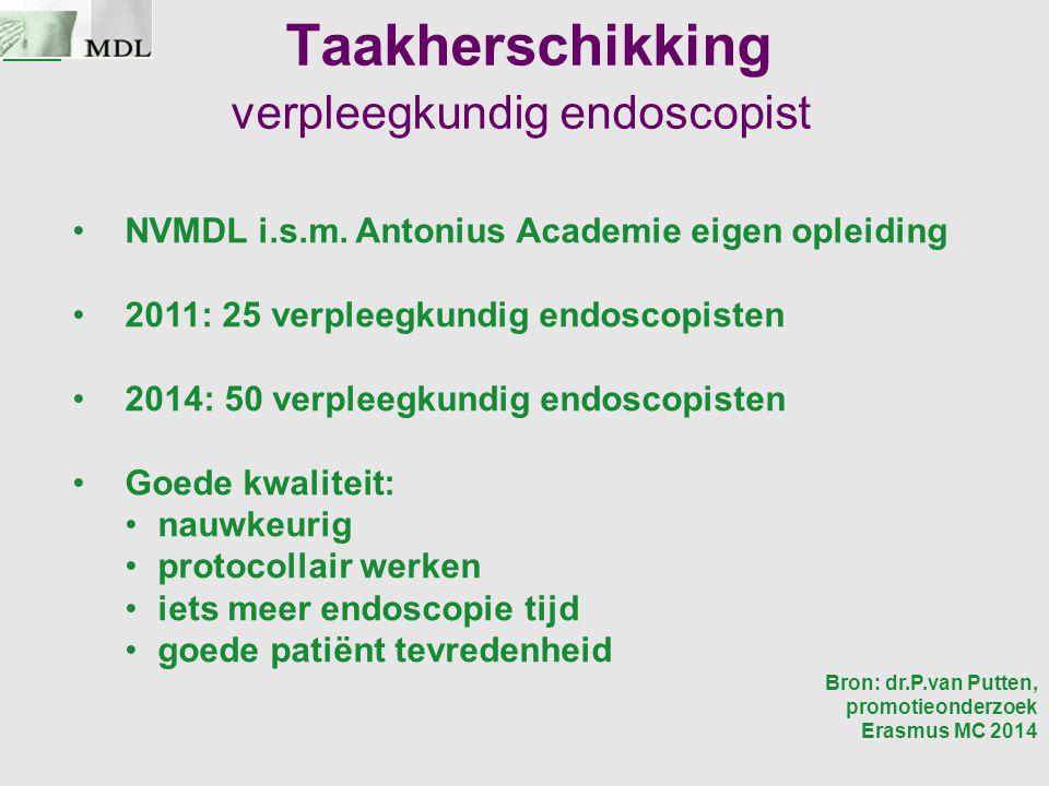 Taakherschikking verpleegkundig endoscopist