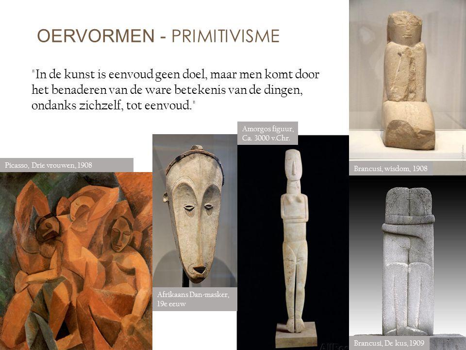 OERVORMEN - PRIMITIVISME