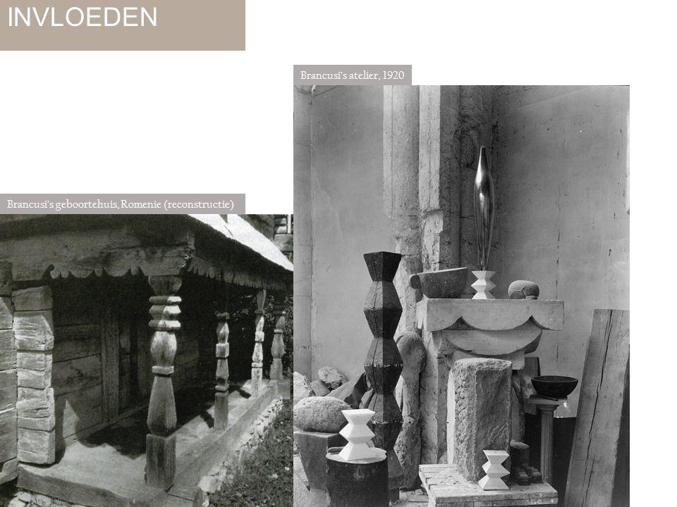 INVLOEDEN Brancusi's atelier, 1920