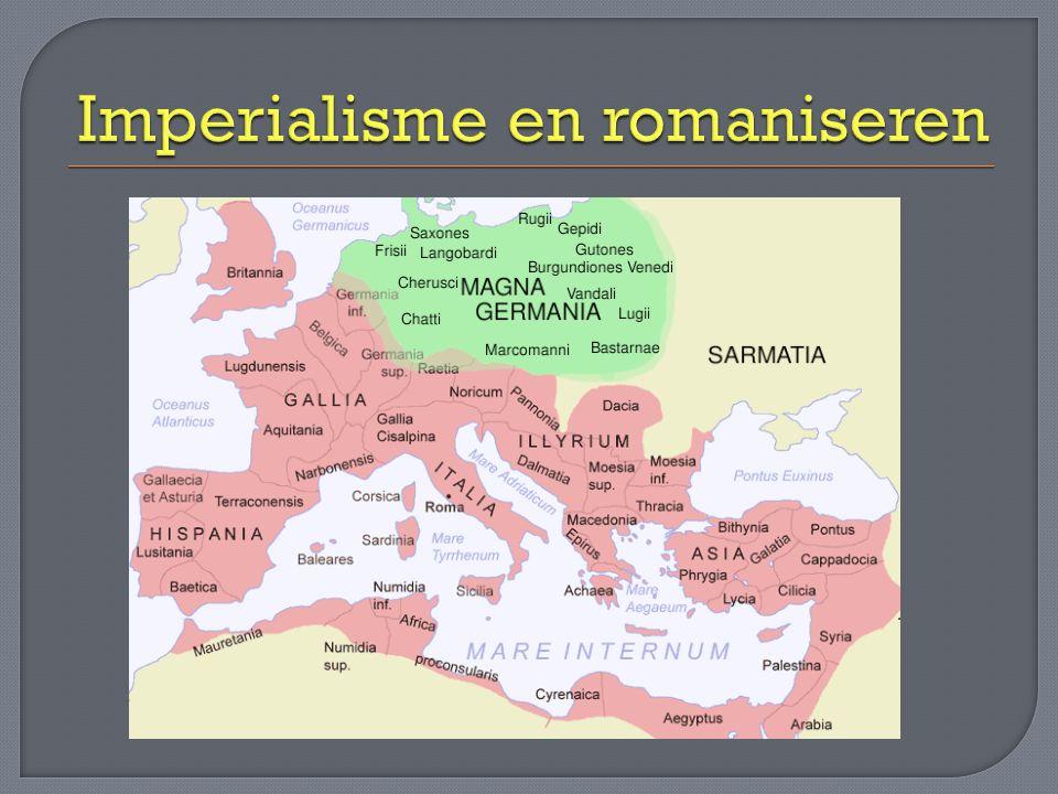 Imperialisme en romaniseren