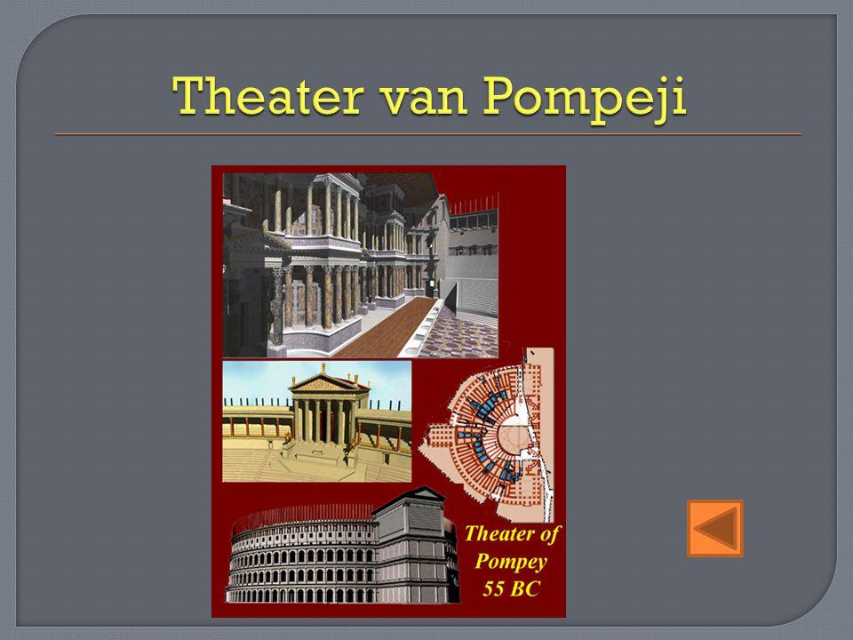 Theater van Pompeji