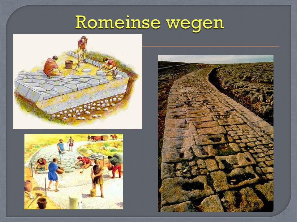 Romeinse wegen