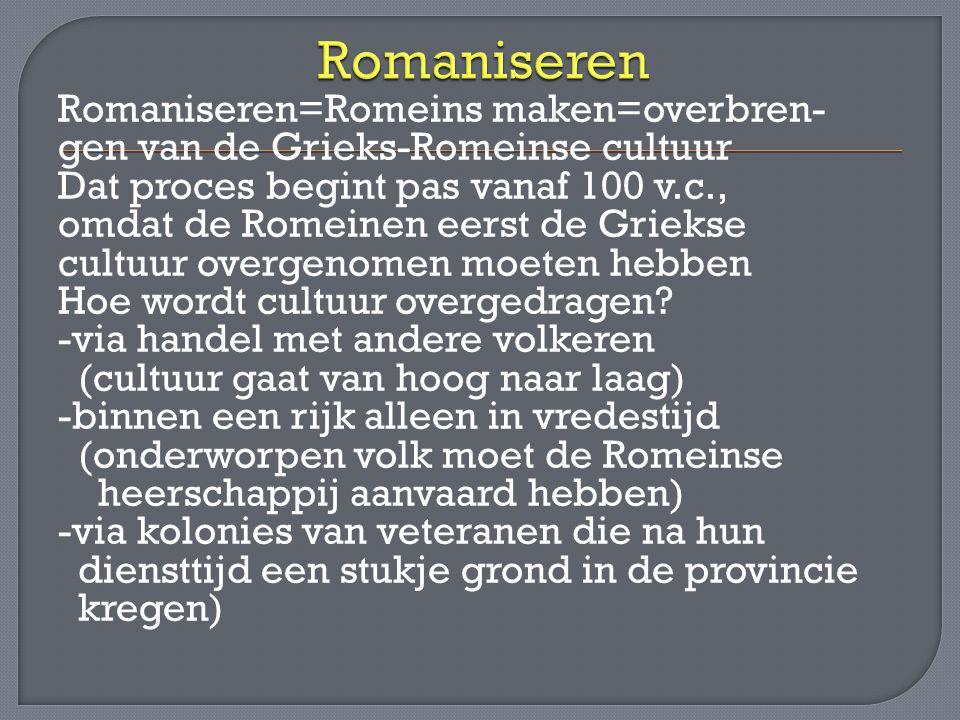 Romaniseren