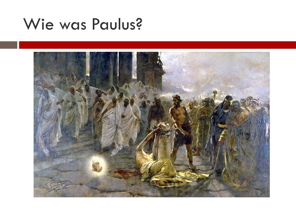 Wie was Paulus