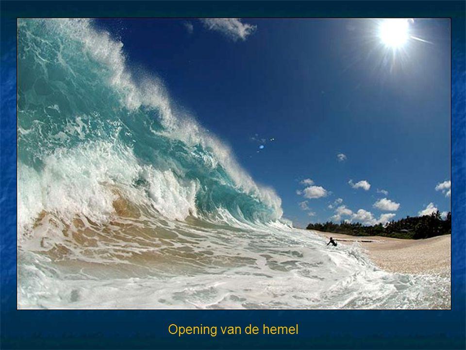 Opening van de hemel
