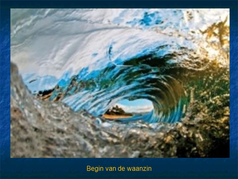 Begin van de waanzin