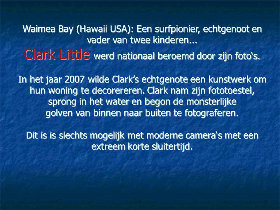 Clark Little werd nationaal beroemd door zijn foto's.