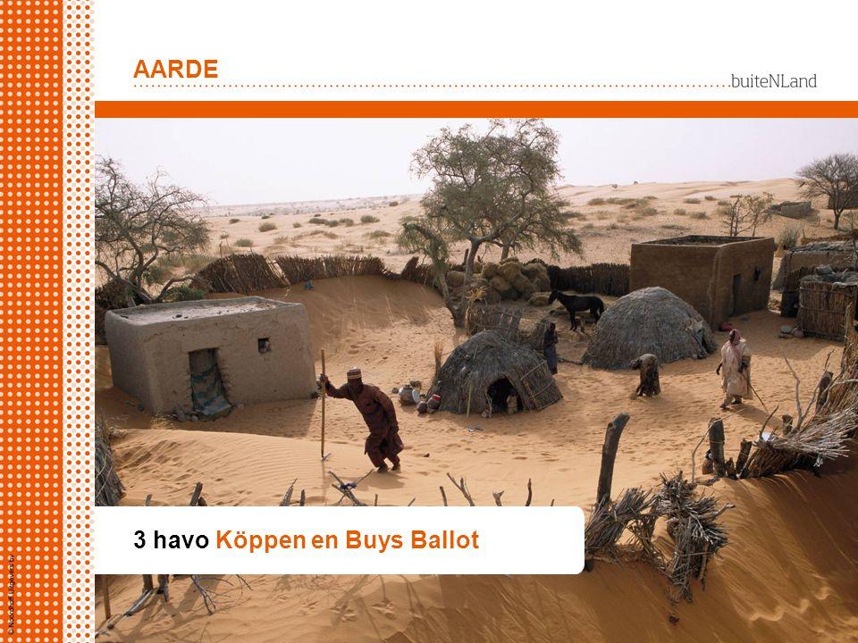 3 havo Köppen en Buys Ballot