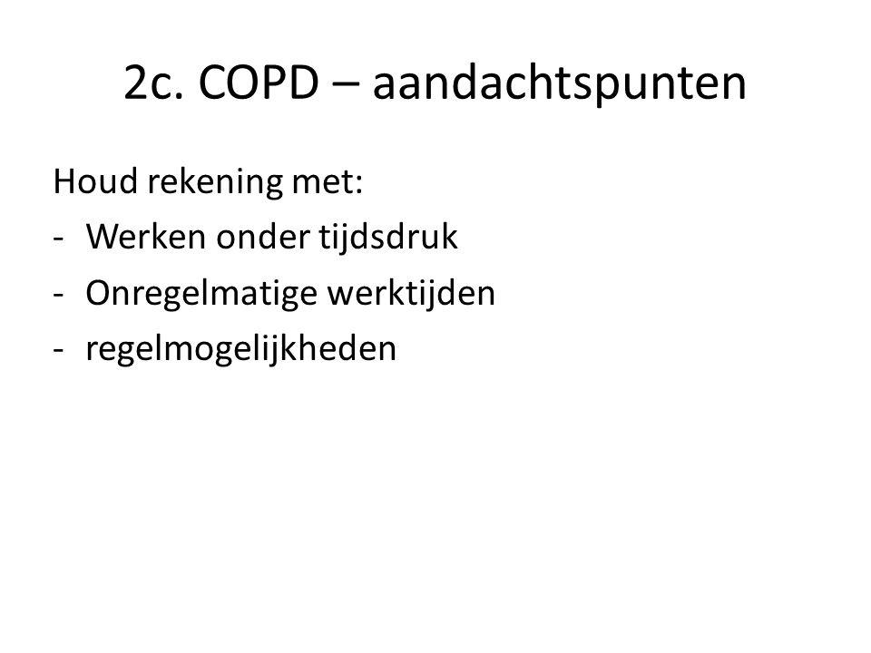 2c. COPD – aandachtspunten